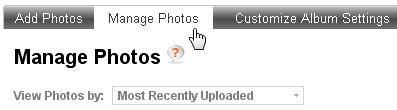 Manage Photos