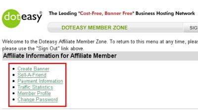 Affiliate Member Zone