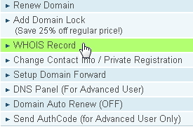 Whois Record